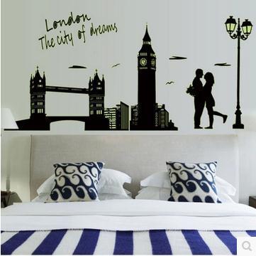 London Bridge is luminous stickers fluorescence stick manufacturers selling oversized European classical architecture(China (Mainland))