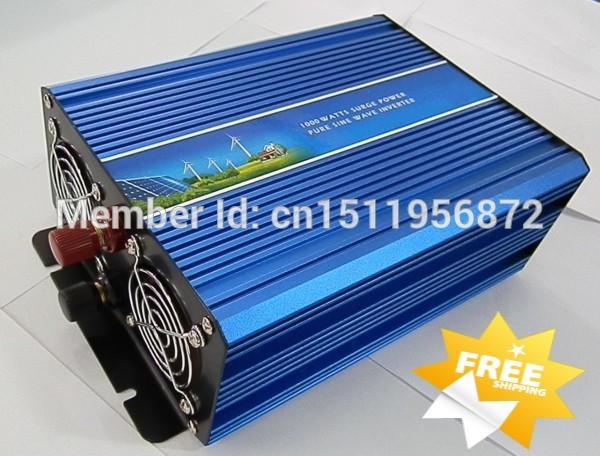 1200W Pure Sine Wave Inverter dc 12v or 24v to ac 240v off grid inverter(China (Mainland))