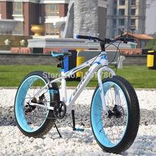 Snow beach mountain bike bicycle bicycles downhill bikes for men mountainbike complete 26 inch china bicicleta de montanha vtt(China (Mainland))
