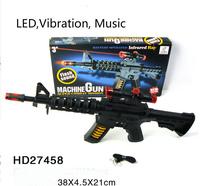2015 Music Submachine Guns Octave Sound And Light Electric Toy Gun Children Fashion Children Gun Toys Shining Music Toy Gun