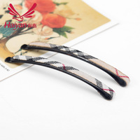 Free Shipping Grid Plated Thin Shape 6.7cm Hair Bobby Pin Metal Clips Barrette 2015 New arrival Hot sale! Clip for girls
