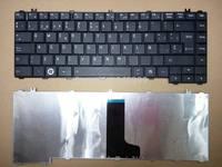 New laptop keyboard For Toshiba Satellite L645 L645D C600 C600D C640 C645 Keyboard Spanish Teclado black