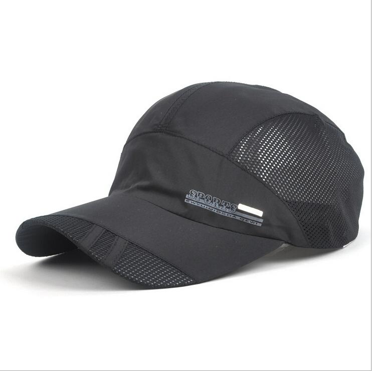 hat cap men Quick Dry outdoor summer sun hat casquette chapeu casual sports Letter mesh men Baseball caps(China (Mainland))