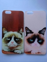 10pcs Grumpy Cat case for iPhone 6 / 6 plus Welcome customized pictures