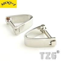 Silver U Shape Cufflink Cuff Link 1 Pair Free Shipping Promotion