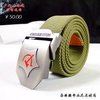HongKong OLG.YAT high-grade polyester/cotton fiber military belt leisure outdoor special necessity Men's joker belt