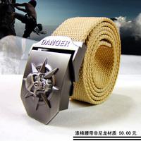 HongKong OLG.YAT high-grade polyester/cotton fiber military belt leisure outdoor special necessity  joker belt
