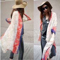 Women's Long Scarves Large Neck Wrap Shawl Scarf Pashmina Stole Boho Style Free Shipping