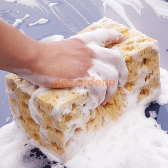 Hot Sale Mini Yellow Car Auto Washing Cleaning Sponge Block(China (Mainland))