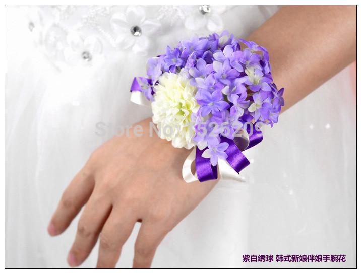 ♕ SPIRIT BRINGERS: EMPYREAN REALM. (SAGA DE DENEB) - Página 12 New-wrist-flower-two-tone-bandage-bride-and-bridesmaids-hand-flower-bouquet-wedding-supplies-accessories-corsage