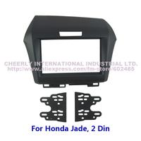 Double Din Car Audio Frame for Honda Jade Dashboard Kits Stereo Radio Dash Trim Kit Fascia Facia Plate CD Panel Frame Cover