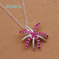 Free shipping N334 hot brand new fashion popular chain 925 silver neckalce jewelry
