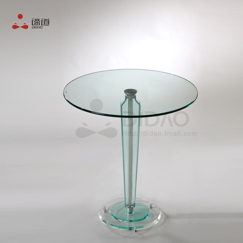 Small apartment furniture, tea table round table acrylic dining table creative fashion minimalist modern coffee table Di Road(China (Mainland))