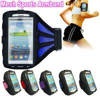 S3 S4 S5 Breathing Holes Running SPORTS GYM Armband Bag Case for Samsung Galaxy SV i9600 SIV i9500 SIII I9300 Jogging Arm Band