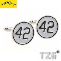 TZG11235 Enamel Cufflink Cuff Link 1 Pair Free Shipping Promotion