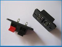 30 pcs WP Push Type Speaker Terminal Board Connector 38mmx19mm 2pin WP2-3B