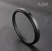 10PCS Camera Lens UV Protector Filter 52mm Fits for 700D T3i 60D EF 50mm f/1.8 II, D80 D3100 D5300 DX 18-55mm f/3.5-5.6G Lens