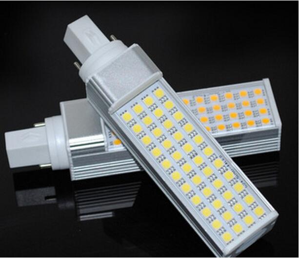 Hot Sale High Power Warm White/Cool White/White 15W G24 / E27 LED PL Light 44SMD 5050 DHL Free Shipping(China (Mainland))
