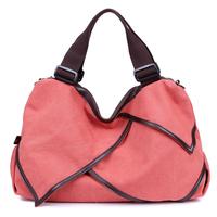Canvas rucksack Multi-canvas shoulder bag Woman canvas handbag Outdoor leisure canvas bag free shipping