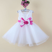 H9065# Wholesale 3-8 ages,6 Pieces/Lot,2 Colors, Princess New Arrival Flower Girl Dress Birthday Ball Party Prom Children's