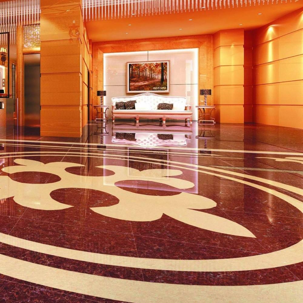 2015 Porcelain Polished Floor Tiles with nano 800X800MM LuBan PuLaTi 8K02C