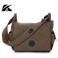 Canvas rucksack backpack Woman canvas handbag K2-921 Outdoor leisure canvas bag free shipping