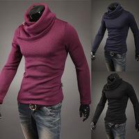 2015 New blusas masculinas inverno speed sell through ebay new han edition winter turtleneck