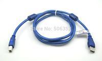 wholesale new high speed with magnetic ring USB print line 2.0 printer port USB data line line printer3 m