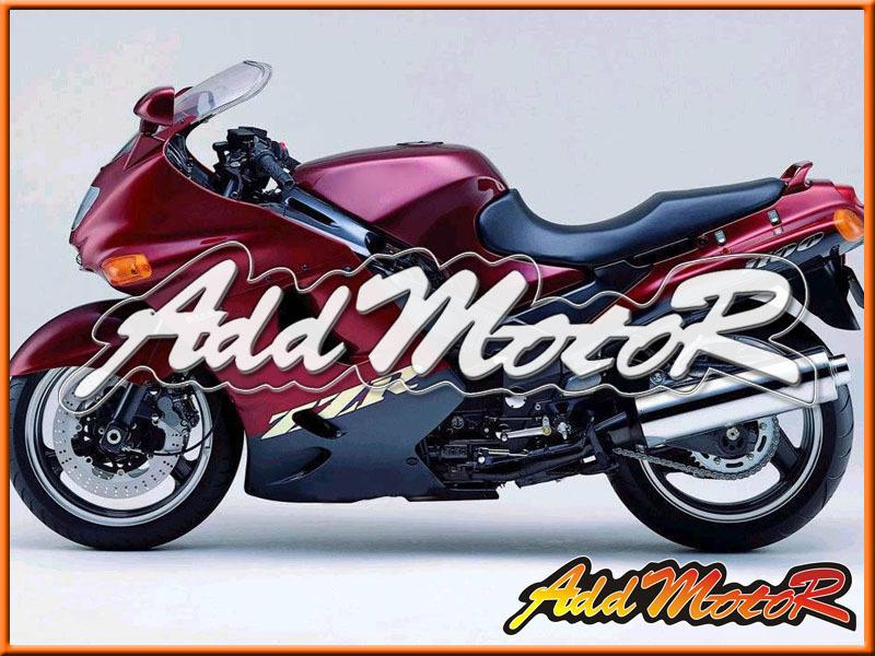 Keep Hot Selling fairing kits Red Black ABS Motorcycle ABS Support Custom kawasaki zzr1100 93-01 zzr1100 kawasaki zzr(China (Mainland))