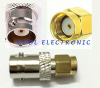 Connector RP-SMA male to BNC female straight RF adapter connector