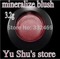 Free Shipping 2015 NEW 9colors Mineralize blush face blush mineralize 3.2g 48PCS / LOT