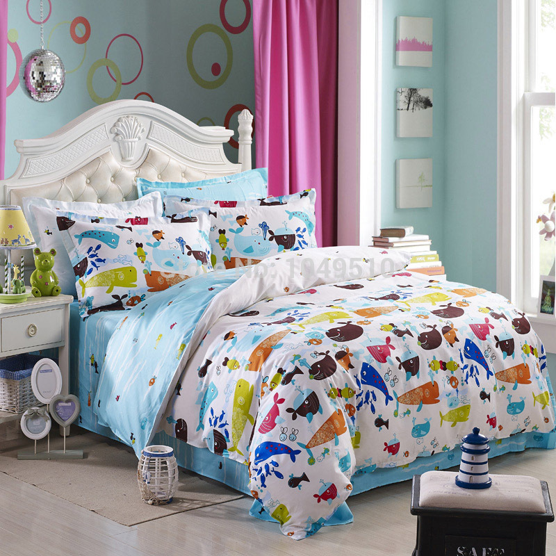Wholesale of Winter Collection 100% Cotton Bedding Set Semi-active Printing Sales(China (Mainland))
