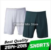 Free Shipping 2015 AC Milan Shorts Best Thai Quality 14 15 AC Milan Football Shorts Soccer Shorts
