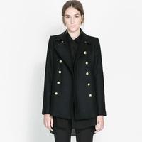 Women's Brand winter long slim Woolen overcoat female cotton overcoat thick warm coats outerwear Fashion plus size