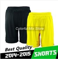 Free Shipping 2015 Borussia dortmund Shorts Home Away Soccer shorts Best Thai Quality Borussia dortmund 14 15 Football Shorts