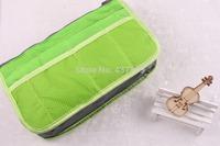 2015 Bag In Bag,Double Zipper Portable Multifunctional Travel Pockets Handbag Storage Bag,Fadish Travel Cosmetic Makeup Wash Bag