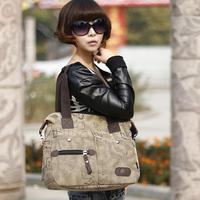 New winter fashion women canvas handbag letters graffiti canvas handbag shoulder bag Messenger bag free shipping motorcycle