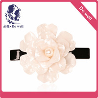 High Quality Decorative Rhinestone Hair Ornament Crystal Hair Accessories Flower Hair Barrettes