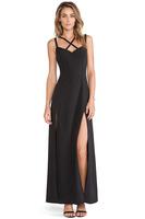 Sexy Fashion Cross Suspenders Backless A-line dress Plus Size Black Dress High split Party Evening dress Good Quality vestidos
