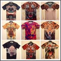 Cool 3D T shirt for men women casual tshirt cool animal printing t-shirt fashion slim lover couple top tee camisetas masculinas
