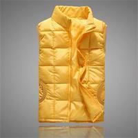 New Morden Women Autumn Winter Hot Warm Fashion Vest Solid Down Cotton Ladies Casual Plus Size Vest Outerwear Multicolors
