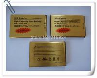 10 pcs/lots 2430mAh High Capacity Gold Business Standard Li-ion Battery for Sony Ericsson Optimus X10 Xperia