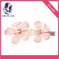 Quality Guarantee Free Shipping Luxury Rhinestone Unique Hair Barrette High Quality Wholesale flower Hair Barrette