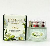 hot sale olive oil face moisturizing whitening cream 50g face care oil-control brighten cream