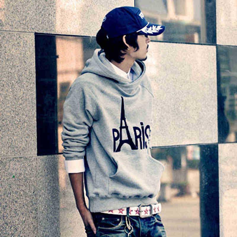 2015 men's fashion sweat shirt cool hoodies for men coat for boys London grey sweatshirts outdoor ropa barata sudadera(China (Mainland))