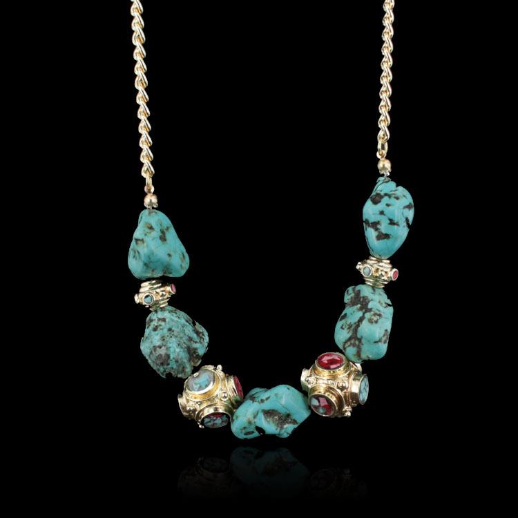 Колье-цепь Washington 520 jewelry 2015 18 k & MLQZAN481 колье honey jewelry колье перея