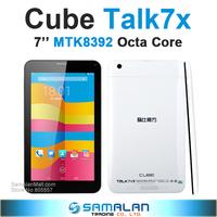 """7"""" Cube talk 7x Octa Core U51GT C8 Talk7x Tablet pc MTK8392 2.0GHz IPS 1024x600 android 4.4 GPS Bluetooth 3G FM OTG"""