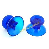 Transparent blue thumbsticks joysticks caps shell mushroom caps for xbox one controller replacement 10pcs