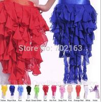 Belly Dance Hip Scarf Wrap Skirt Dancing Costume Belt 12 Colours