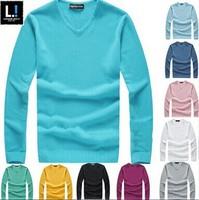 2015 hot sales Brand men sweater Long Sleeve Cashmere men Knitwear sweater designer Men pullover men clothing
